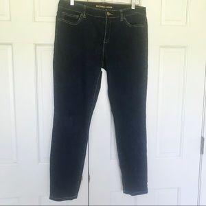 Michael Kors stretch skinny jeans  dark wash